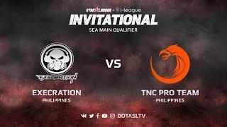 Execration против TNC Pro Team, Первая карта, SEA квалификация SL i-League Invitational S3
