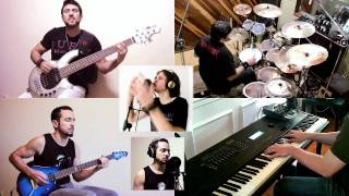 Dream Theater – As I Am (Train of Thought) – SPLIT-SCREEN COVERS – VRA!