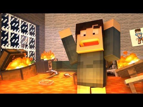 Lava Floor - Minecraft Animation
