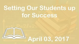 PD Webinar Session - Setting Our Students up for Success