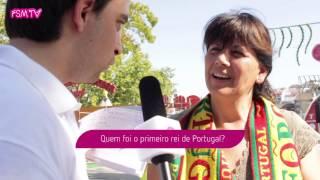Vox Pop em dia de Portugal Sou Eu