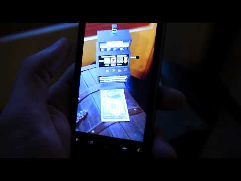 Video of 4D Vegas Style AR Slot Machine