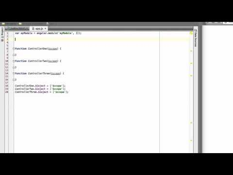 Communicating Between Controllers in AngularJS