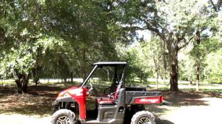 8. 2013 Polaris Ranger XP900 XP roof video.