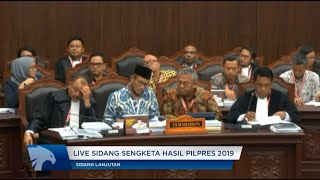 Video [FULL] Sidang Kedua Sengketa Pilpres 2019 MP3, 3GP, MP4, WEBM, AVI, FLV Juni 2019