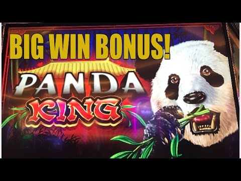 BIG WIN! PANDA KING SLOT MACHINE BONUS