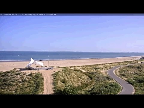 Live-Cam: Niederlande - Zeeland -  Strandcamping