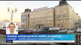 Polská veřejnoprávní média protestují