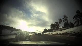 Mountain Driving Time Lapse HD