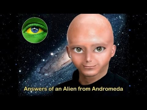 99 - Friends of our channel and YouTubers welcome. Answers of an alien from Andromeda -- video ninety-nine - April 13, 2013. Encounter date: April 12, 2013.Atlant...