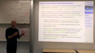 Variational Methods For Computer Vision - Lecture 12b (Prof. Daniel Cremers)