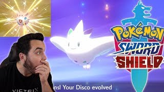 SHINY DISCO TOGEPI and SHINY TOGEKISS in Pokemon Sword and Shield! by aDrive
