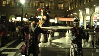 The Venetian Italian Opera Show By Performers At The Grand Canal Shoppes HD 1080p