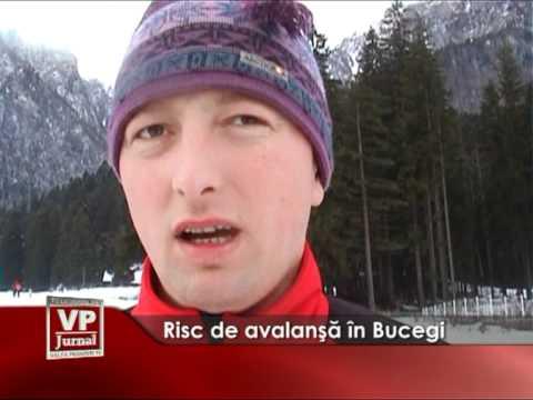 Risc de avalanşă în Bucegi