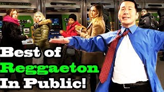 Video BEST OF REGGAETON - SINGING IN PUBLIC!! (Ozuna, Daddy Yankee, Shakira, Romeo Santos, more) MP3, 3GP, MP4, WEBM, AVI, FLV Agustus 2018