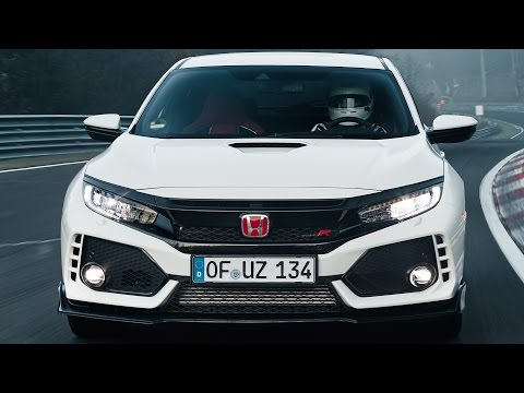 Honda Civic Type R (2017) New record at the Nürburgring
