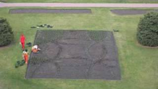 The Planting of City Hall Garden 2009