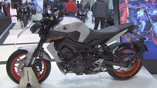 2. Yamaha MT-09 (2019) Exterior and Interior