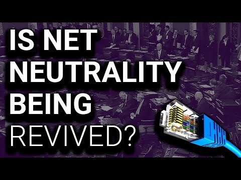 Senate PASSES Bill to Save Net Neutrality