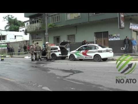 Colisão entre moto e Busão na Carahá mata piloto