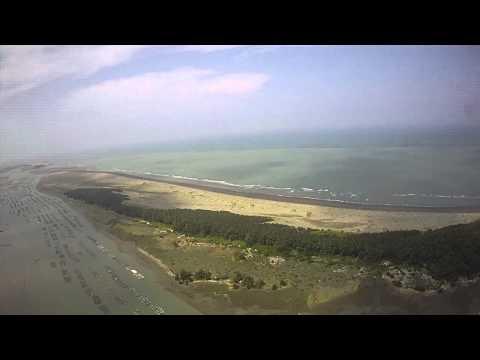 20120922七股扇形鹽田鹽山遊瀉湖FPV (видео)