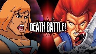 He-Man VS Lion-O | DEATH BATTLE! | ScrewAttack!