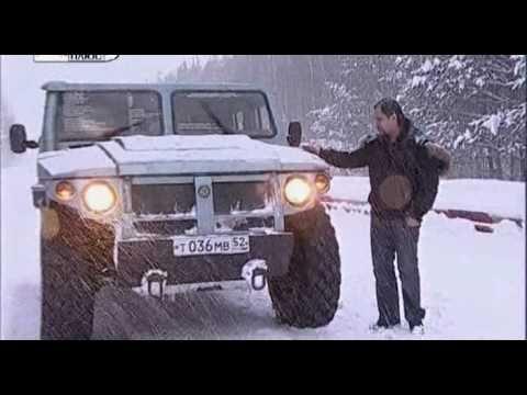 GAZ  Тест ГАЗ-ТИГР II