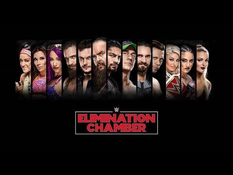 WWE 2K18 Simulation Of The Newly Announced 7 Man Elimination Chamber Match