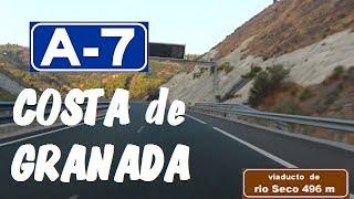 Motril Spain  city photos gallery : A-7 Autovía del Mediterráneo , Zona Motril - Almuñecar , Granada / Granada Coast - Highways in Spain