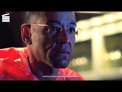 Breaking Bad Season 4: Episode 1: Gus slits Victor's throat HD CLIP