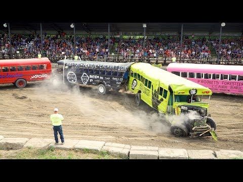 Demolition derby - BUS - Autobus (Lachute 2019)