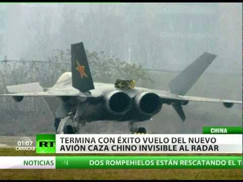 China y su nuevo avión invisible el bombardero furtivo J-20