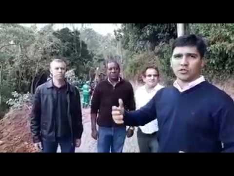 Prefeito Arizinho de São Lourenço da Serra e Vereadores prometem arrumar a Estrada do Bairro do Despézio