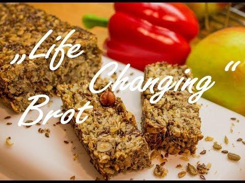 Life Changing Brot [ohne Mehl, Hefe, Backpulver, sättigend, gesund]