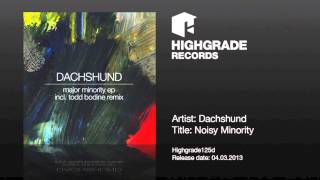 Dachshund - Noisy Minority (Original Mix)