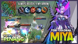 Video There is no Reason to Give up! Comeback Modena Butterfly by PENANG Top 1 Global Miya ~ MLBB MP3, 3GP, MP4, WEBM, AVI, FLV Desember 2018