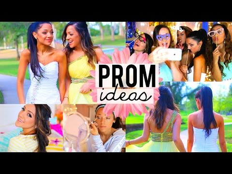 PROM 2015! Beauty Tips, Hairstyles, Dresses, Photo Ideas + more!!