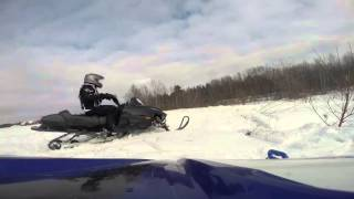 10. Skidoo freeride and Arctic cat f6 jumping