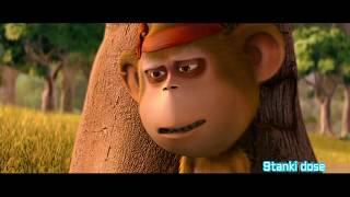 Delhi Safari|Bandru|Funny Moment|Monkey|Language|Govinda|Hindi|