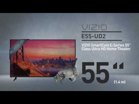 "All-New 2016 VIZIO E55u-D2 SmartCast™  E-Series 55"" Class Ultra HD// Full Specs Review  #VIZIO"