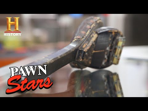 Pawn Stars: Rick Tests Out an Antique Spanker (Season 17) | History