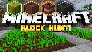 *NEW* Minecraft Mini-Game: Block Hunt! - w/Preston, Woofless&CraftBattleDuty