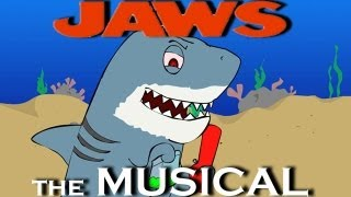 ♪ JAWS THE MUSICAL - Animation Parody