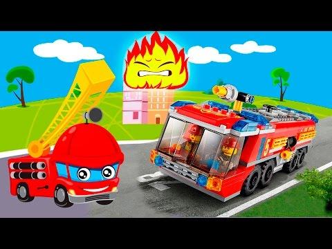 Мультики про машинки все серии подряд Пожарные машины в видео для детей. Сборник лучших мультфильмов (видео)