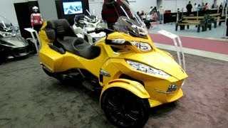 10. 2013 Can-am Spyder RT - Walkaround - 2013 Montreal Motorcycle Show