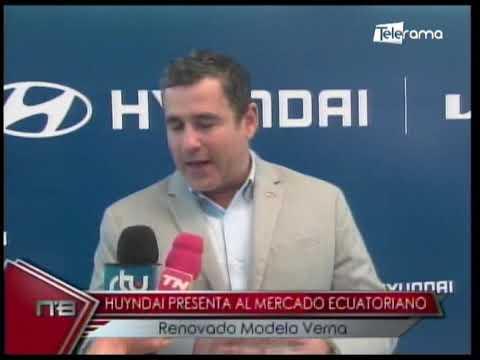 Hyundai presenta al mercado ecuatoriano renovado modelo Verna