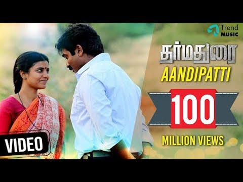 Download Dharmadurai - Aandipatti Video Song   Vijay Sethupathi, Aishwarya Rajesh   Yuvan Shankar Raja HD Mp4 3GP Video and MP3