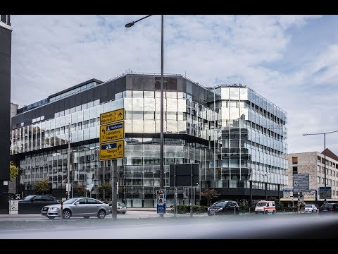 Abriss-Gebäude: Im Inneren der EnBW-Zentrale, Stutt ...