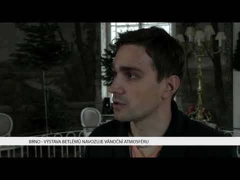 TV Brno 1: 1.12.2017 Výstava betlémů navozuje vánoční atmosféru