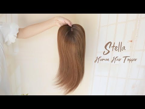 Stella Silk Top Virgin Remy Human Hair Topper